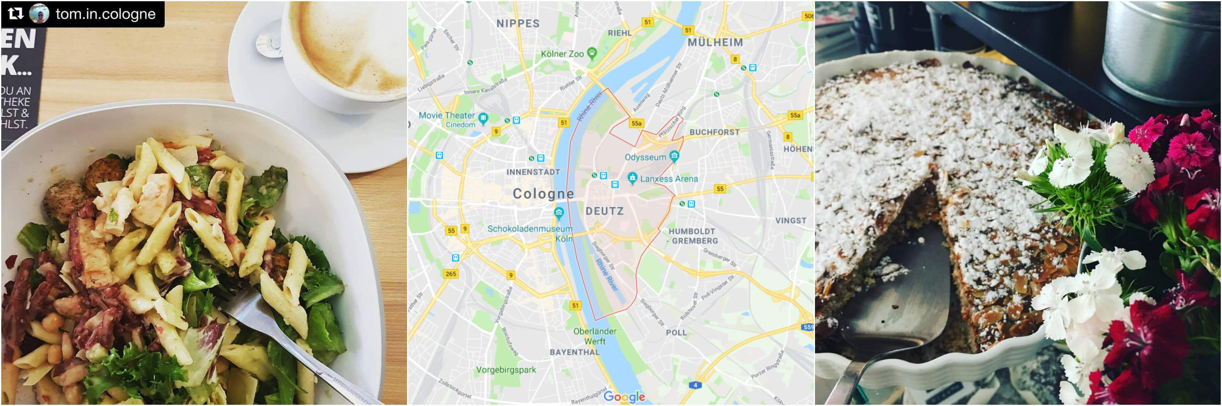 Where to eat in Cologne Deutz