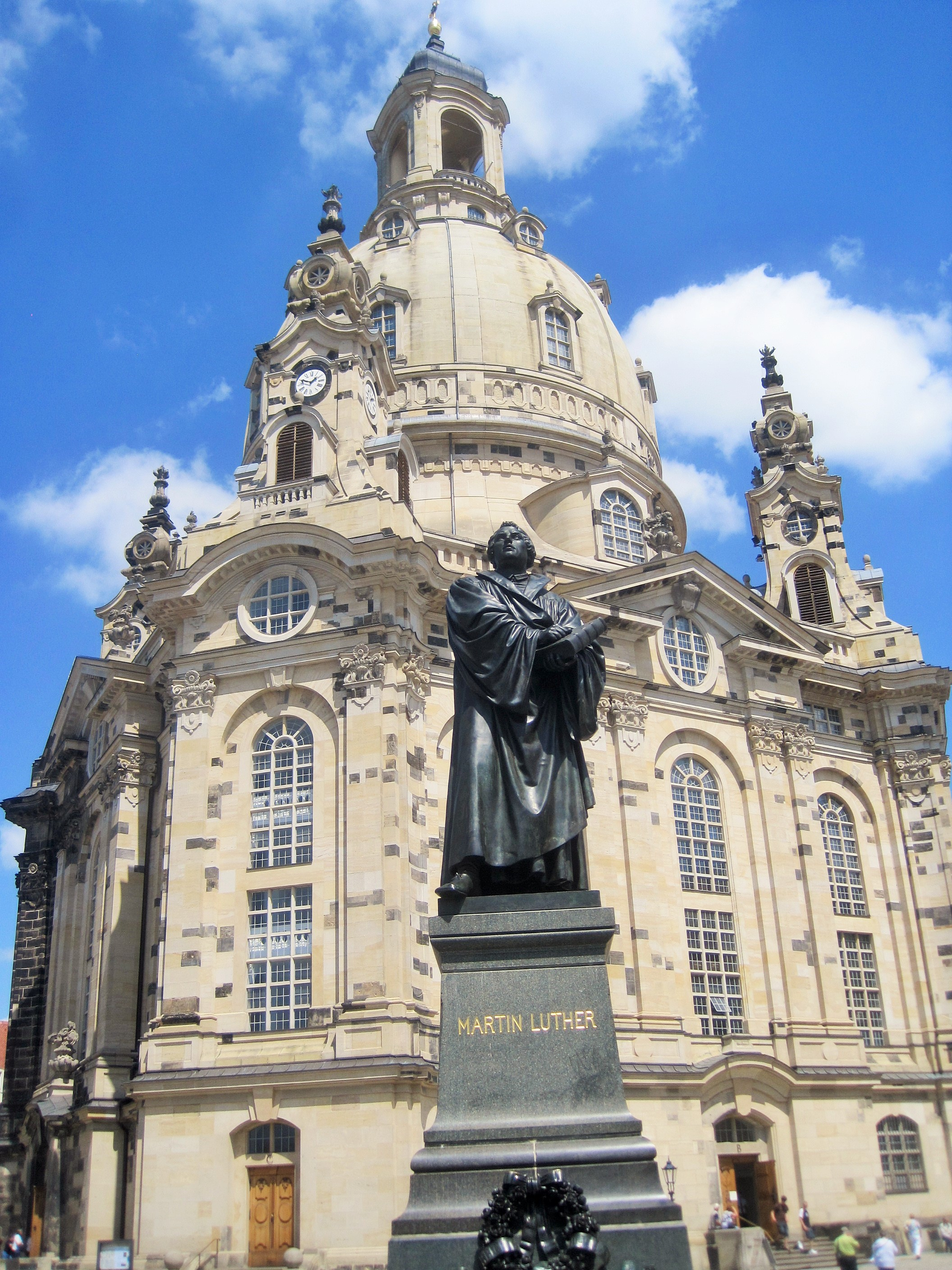 Dresden cathedral - Frauenkirche