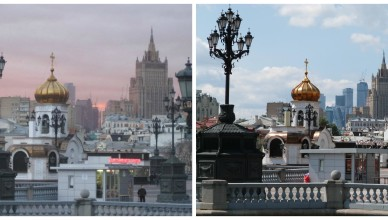 Moscow: then and now