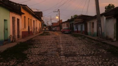 Trinidad Cuba photos sunset